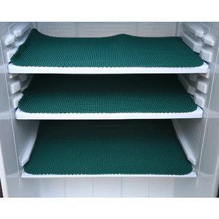 Kuber IndustriesAnti Slip Refrigerator Drawer Mat/ Anti Skid Resistant Fridge Mat (Green)