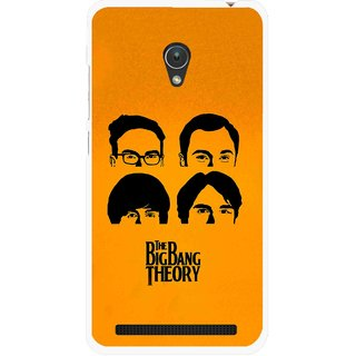 Snooky Printed Bigbang Mobile Back Cover For Asus Zenfone Go ZC451TG - Yellow