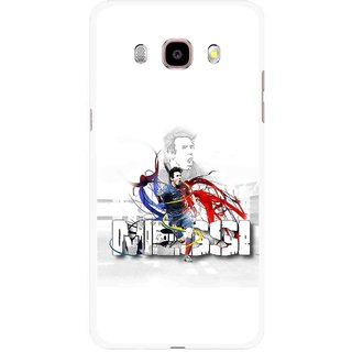 Snooky Printed Messi Mobile Back Cover For Samsung Galaxy J5 (2017) - Multicolour