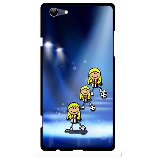 Snooky Printed Girls On Top Mobile Back Cover For Micromax Canvas Selfie 3 Q348 - Multi