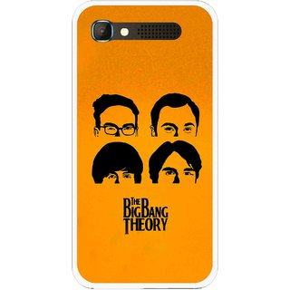Snooky Printed Bigbang Mobile Back Cover For Intex Aqua Y2 Pro - Yellow
