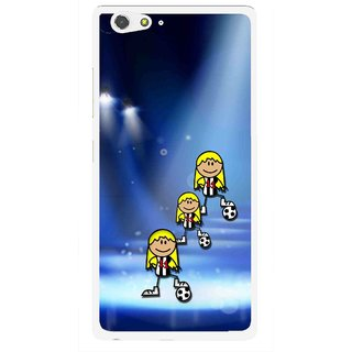 Snooky Printed Girls On Top Mobile Back Cover For Gionee Elife S6 - Multi