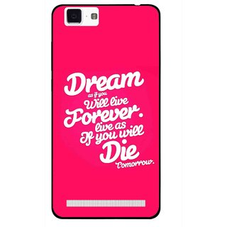 Snooky Printed Live the Life Mobile Back Cover For Vivo X5 Max - Multi