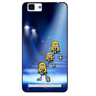 Snooky Printed Girls On Top Mobile Back Cover For Vivo X5 Max - Multi