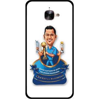 Snooky Printed Cricket Ka Badshah Mobile Back Cover For Letv Le 2 - Multicolour