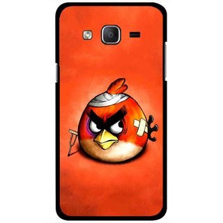 Snooky Printed Wouded Bird Mobile Back Cover For Samsung Galaxy On5 - Red