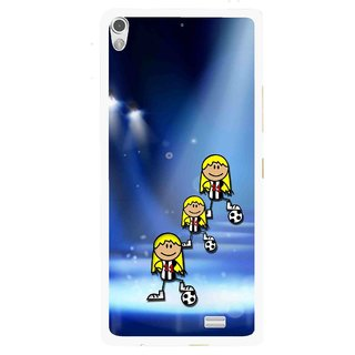 Snooky Printed Girls On Top Mobile Back Cover For Gionee Elife S5.1 - Multi
