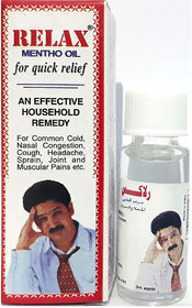 Relax Mentho Oil For Quick Relief 3ml