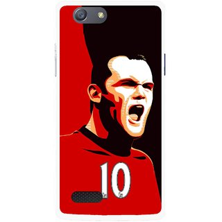 Snooky Printed Sports ManShip Mobile Back Cover For Oppo Neo 7 - Black