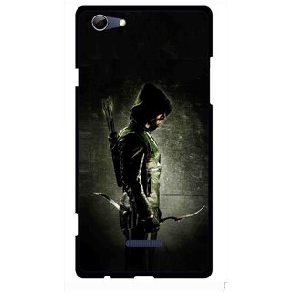 Snooky Printed Hunting Man Mobile Back Cover For Micromax Canvas Selfie 3 Q348 - Multi