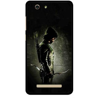 Snooky Printed Hunting Man Mobile Back Cover For Gionee F103 pro - Multi