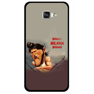 Snooky Printed Bhaag Milkha Mobile Back Cover For Samsung Galaxy A7 2016 - Multicolour