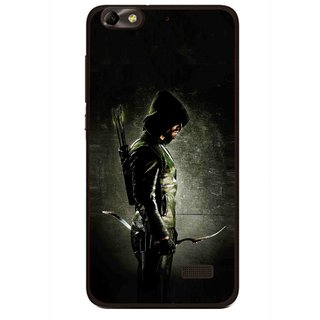Snooky Printed Hunting Man Mobile Back Cover For Huawei Honor 4C - Multi