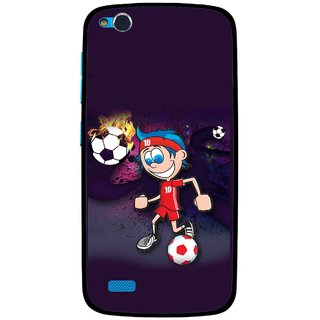 Snooky Printed My Game Mobile Back Cover For Gionee Elife E3 - Multi