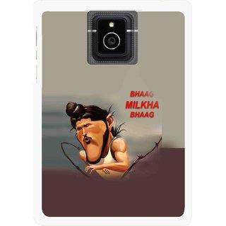 Snooky Printed Bhaag Milkha Mobile Back Cover For Blackberry Passport - Multicolour