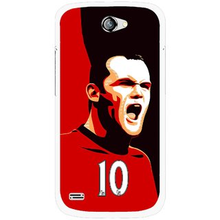 Snooky Printed Sports ManShip Mobile Back Cover For Gionee Pioneer P3 - Black