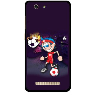 Snooky Printed My Game Mobile Back Cover For Gionee F103 pro - Multi