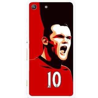 Snooky Printed Sports ManShip Mobile Back Cover For Sony Xperia M5 - Black