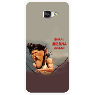 Snooky Printed Bhaag Milkha Mobile Back Cover For Samsung Galaxy A3 (2016) - Multicolour