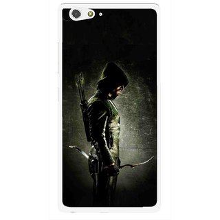 Snooky Printed Hunting Man Mobile Back Cover For Gionee Elife S6 - Multi