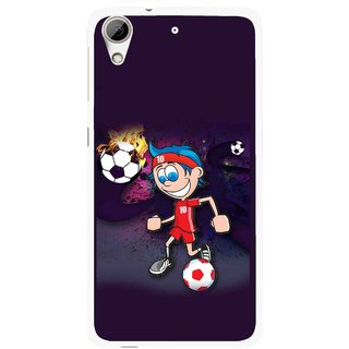 Snooky Printed My Game Mobile Back Cover For HTC Desire 626 - Multi