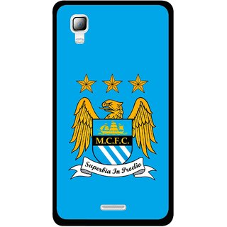 Snooky Printed Eagle Logo Mobile Back Cover For Micromax Canvas Doodle 3 A102 - Blue
