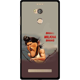 Snooky Printed Bhaag Milkha Mobile Back Cover For Gionee Elife E8 - Multicolour