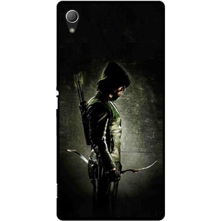 Snooky Printed Hunting Man Mobile Back Cover For Sony Xperia Z3 - Multi
