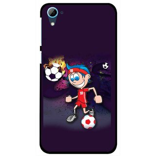 Snooky Printed My Game Mobile Back Cover For HTC Desire 826 - Multi
