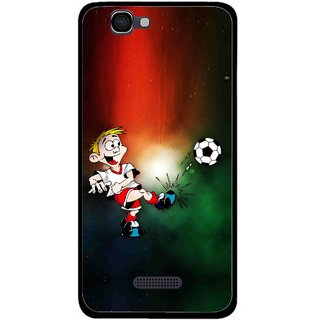 Snooky Printed My Passion Mobile Back Cover For Micromax Canvas 2 A120 - Multi