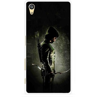 Snooky Printed Hunting Man Mobile Back Cover For Sony Xperia Z5 Plus - Multi