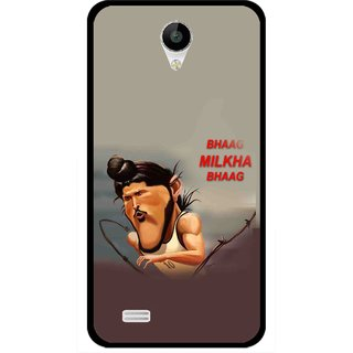 Snooky Printed Bhaag Milkha Mobile Back Cover For Vivo Y22 - Multicolour