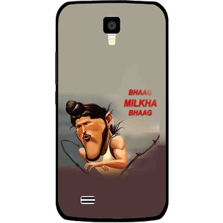 Snooky Printed Bhaag Milkha Mobile Back Cover For Gionee Pioneer P2S - Multicolour
