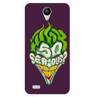 Snooky Printed Serious Mobile Back Cover For Vivo Y22 - Multi