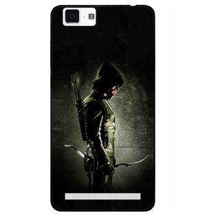 Snooky Printed Hunting Man Mobile Back Cover For Vivo X5 Max - Multi