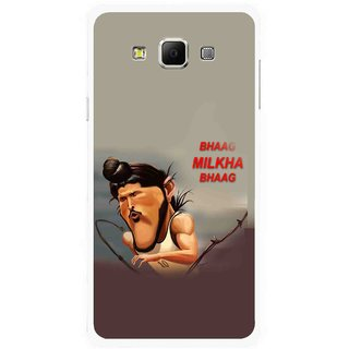 Snooky Printed Bhaag Milkha Mobile Back Cover For Samsung Galaxy E5 - Multicolour