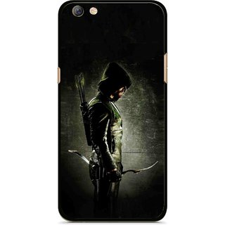 Snooky Printed Hunting Man Mobile Back Cover For Oppo F3 plus - Multi
