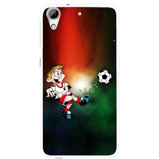 Snooky Printed My Passion Mobile Back Cover For HTC Desire 626 - Multi