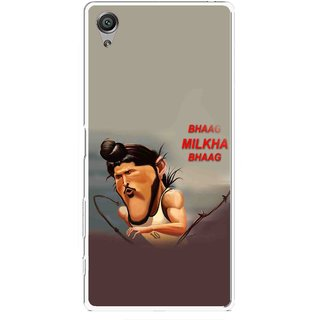 Snooky Printed Bhaag Milkha Mobile Back Cover For Sony Xperia X - Multicolour