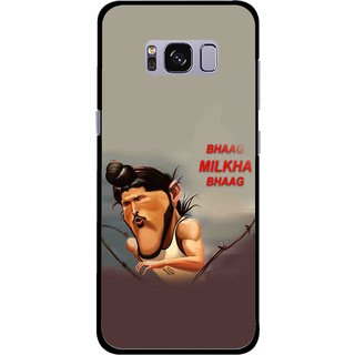 Snooky Printed Bhaag Milkha Mobile Back Cover For Samsung Galaxy S8 - Multicolour
