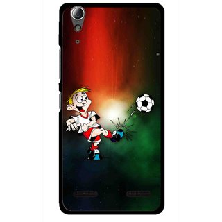 Snooky Printed My Passion Mobile Back Cover For Lenovo A6000 - Multi