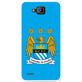 Snooky Printed Eagle Logo Mobile Back Cover For Huawei Honor 3C - Blue