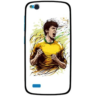 Snooky Printed I Win Mobile Back Cover For Gionee Elife E3 - Multi