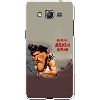 Snooky Printed Bhaag Milkha Mobile Back Cover For Samsung Galaxy Grand Max - Multicolour