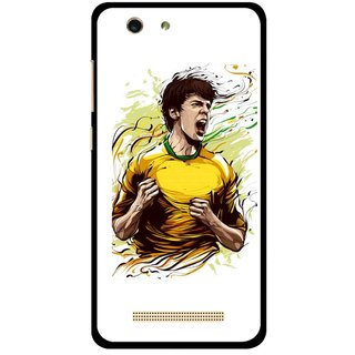 Snooky Printed I Win Mobile Back Cover For Gionee F103 pro - Multi