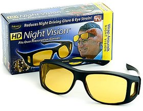 New Pack of 3 Day  Night Vision Riding glasses Anti Scratch Coated driving