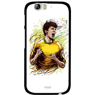 Snooky Printed I Win Mobile Back Cover For Micromax Canvas Turbo A250 - Multi