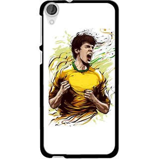 Snooky Printed I Win Mobile Back Cover For HTC Desire 820 - Multi