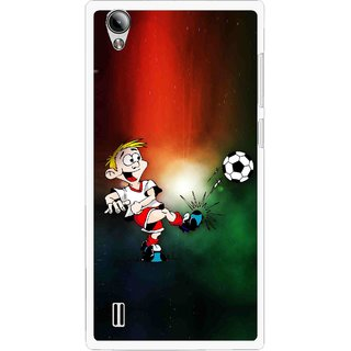Snooky Printed My Passion Mobile Back Cover For Vivo Y15 - Multi
