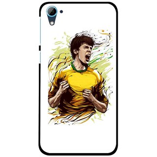 Snooky Printed I Win Mobile Back Cover For HTC Desire 826 - Multi